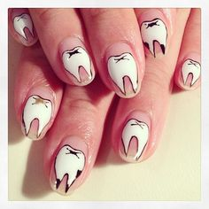 Tooth Nail Art