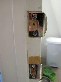 How To Hang A New Door In An Existing Frame - Dream Book Design Interior Door Hinges, Dream Book, Book Design, Bottle Opener, Door Handles, Doors, Bathroom Ideas, Frame, Diy