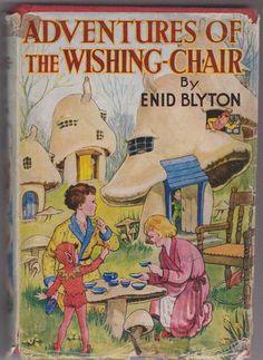 ''Adventures Of The Wishing-Chair'', by Enid Blyton, George Newnes reprint 1956. Illus. Hilda McGavin | eBay