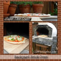 Country Momma Cooks: Pizza 10  She and her husband built their own brick oven!