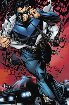 Nightwing by Mike Lilly