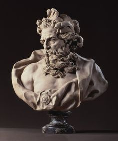Bust of Neptune, by Lambert-Sigisbert Adam