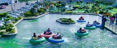 Pacific Paradise Family Fun Center,  767 Minard Ave, Ocean Shores WA 360-289-9537 ... mini golf, bumper boats, arcade