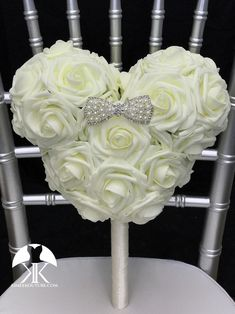 Mickey Bridal Bouquet, Mickey Bridesmaid Bouquet or Flower Girl Bouquet with Ribbon wrapped handle and RHINESTONE PEARL BOW. Made of PREMIUM Real Touch soft roses. Dimensions: Head 10 width X 8.5 height (7 face Flower Ball Centerpiece, Red Centerpieces, Mickey Centerpiece, Crown Centerpiece, Silver Centerpiece, Aqua Wedding, Bling Wedding, Wedding Day, Wedding Signs