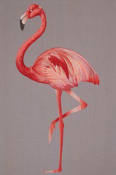 Suzy Hoodless Flamingo