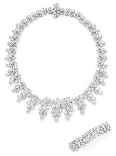 Diamond Jewelry Set; Tiffany & Co. Christie's