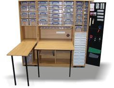 Foldaway Deluxe Kit SQF :: Fold-Away Deluxe :: The Fold-away :: Storage Furniture Suppliers, Craft Storage Boxes, Office Storage Furniture, UK
