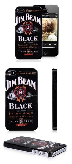 Jim Beam Drink iPhone 5 Case Whisky Protective Cover Case for iPhone 5 5S #jimbeam #whisky #drink #iphone5 #case #protective #case $4.54