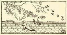 Vintage Lizard Drawing - ReusableArt.com