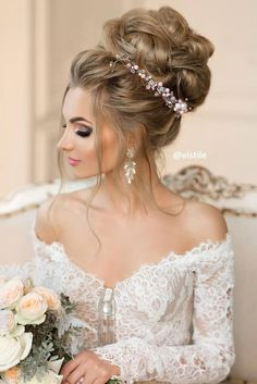 Best Hairstyles for Weddings and Prom Night ★ See more: http://lovehairstyles.com/best-hairstyles-for-weddings/