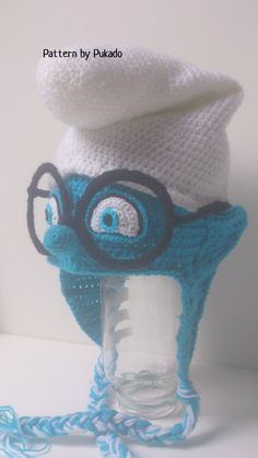 Pattern Smurfs Hat Instant Download 3 sizes included by Pukado crochet