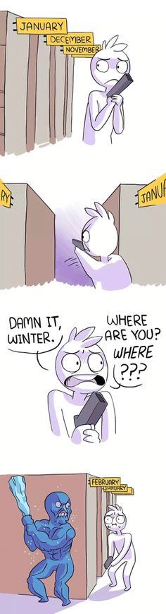 Sneaky ass winter