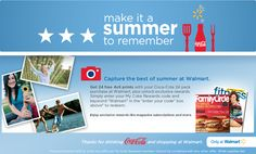 Saving 4 A Sunny Day: Get Free Prints At Walmart From My Coke Rewards