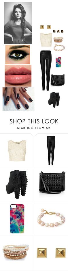 """Heaven Payne - Soirée"" by andihavethestyles ❤ liked on Polyvore featuring Topshop, Ventcouvert, Jeffrey Campbell, McQ by Alexander McQueen, House of Holland, Michael Kors, Forever 21 and Bobbi Brown Cosmetics"