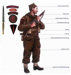 A Commando soldier