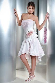 Abito sposa collezione Minerva, modello 015 Corto