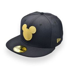 NEW ERA MICKEY MOUSE DISNEY 59FIFTY NAVY SILHOUETTE CAP