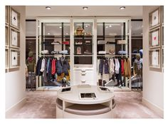 Massimo Dutti Flagship Store. Serrano 48, Madrid - Second floor, Boys & Girls Collection.