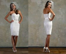 New Sheath Short Sexy Lace Bridal Wedding/Prom/Evening/Party Dresses/Gown
