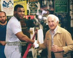 Rare meeting in Las Vegas 1987. He was Eddie Simms who fought Joe Louis in 1936. Mike was thrilled to meet Eddie. Eddie had to be a tough guy because he had 52 fights before he was KO'd the first time. And that was by Louis.  Rare meeting in Las Vegas 1987. Mike was training for the Bonecrusher fight when an oldtimer came to the gym to say hello. He was Eddie Simms who fought Joe Louis in 1936. Mike was thrilled to meet Eddie. Eddie had 52 fights before he was KO'd the first time - by Louis.
