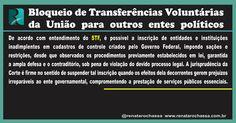 Bloqueio de Transferências Voluntárias da União para outros entes políticos