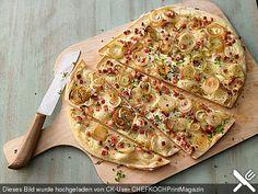 Schneller Flammkuchen, ein schönes Rezept aus der Kategorie Snacks und kleine Gerichte. Bewertungen: 513. Durchschnitt: Ø 4,6.
