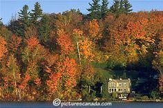 Quebec, les Laurentides, Saint-Sauveur