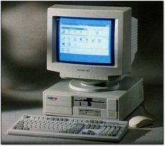 Packard Bell 486SX2-50 - When I taught computer technology in the mid '90s, we dismantled a lot of these.  I also owned one.