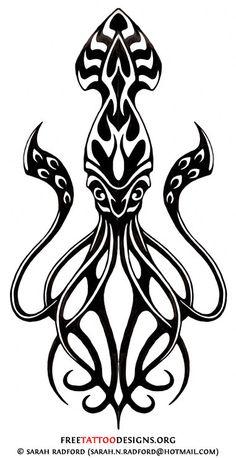 kraken tumblr sketch - Google Search