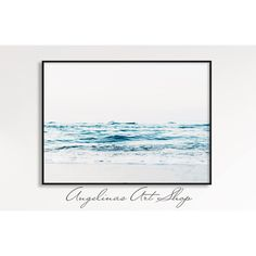 Ocean Wave Print, Wave, Waves, Blue Waves Print, Blue Sea, Ocean,... ($7.44) ❤ liked on Polyvore featuring home, home decor, wall art, oceanwave, wave, ocean wave wall art, beach wall art, sea home decor, wave wall art and coastal wall art