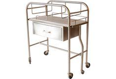 One Kings Lane - The Industrial Loft - Steel Cart Table