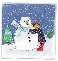 Sharon Blackman: 'Italiano' & a few other things... Love the snowman!