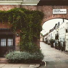 Hyde Park Garden Mews is one of the loveliest little streets in central London.