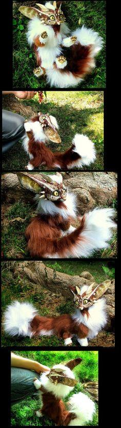 Posable Dragon Fox by *Wood-Splitter-Lee on deviantART