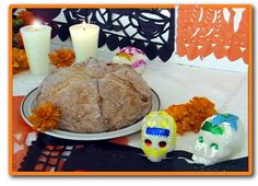 """Day of the Dead Bread Recipe. Just did this with my daughter today for a school """"project"""" and it came out beautifully !"""