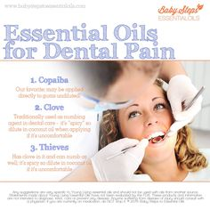 Young Living Essential Oils - Dental Pain - looking for something to help with the pain? Try these oils out. Have questions? Email me at: edingse@gmail.com or Order the Premium Starter Kit and get a free gift from me. Order here: http://www.thewelloiledlife.com/staceyeding