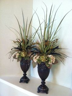 Best Faux Floral Arrangements For Home Decoration: Decorating Ideas With Faux Floral Arrangements For Tabletop