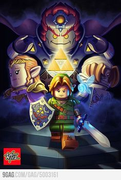 Lego Legend of Zelda....yes please