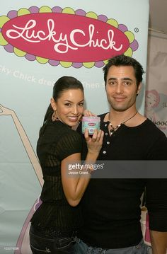 Victor Webster (right) at Lucky Chick (Photo by Jesse Grant/WireImage for Silver Spoon (formerly The Cabana))