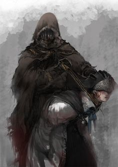 art conceitual his cloak but much darker Fantasy Character Design, Character Art, Bloodborne Art, Dark Souls Art, Soul Game, Old Blood, The Ancient Magus, Gothic Horror, Dark Fantasy Art