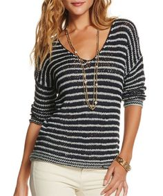 This Navy & Gray Linnea Sweater by TART Collections is perfect! #zulilyfinds
