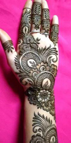 Khafif Mehndi Design, Floral Henna Designs, Latest Bridal Mehndi Designs, Back Hand Mehndi Designs, Mehndi Designs Book, Simple Arabic Mehndi Designs, Mehndi Designs 2018, Mehndi Designs For Girls, Mehndi Design Photos