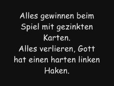 Haus am See lyrics - YouTube voor duits ;)