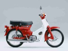 Honda 50 Cub i had one of these when i was about 9