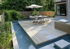 """Auch auf kleinster Fläche ist es möglich, einen vielseitigen Außen-Wohnraum zu schaffen. Bester Beweis hierfür ist das """"Mini Spa"""", das von Terraman..."""