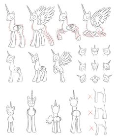 [MLP]draw alicorn by Pennygu.deviantart.com on @DeviantArt