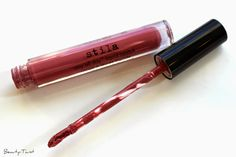 Stila Patina Stay All Day Liquid Lipstick Review & Swatches