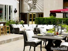 #Kitchen of the Month, October 2012. Design: Mick De Giulio. Outdoor Dining Area