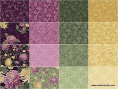 """A Mum for a Mum Plum 10"""" Squares - Jackie Robinson - Benartex — Missouri Star Quilt Co."""