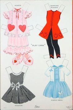 (⑅ ॣ•͈ᴗ•͈ ॣ)♡                                                             ✄Valentine Paper Doll